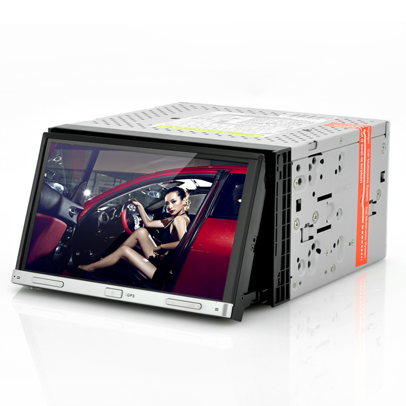 "Double DIN 7 Inch Car DVD Player ""Road Hog"" - Motorized Panel, Touch Screen, GPS OA5164"